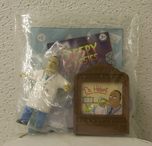 Qiyun The Simpsons Dr Hibert Halloween Burger King Creepy Classic Fast Food Toy 2002 -