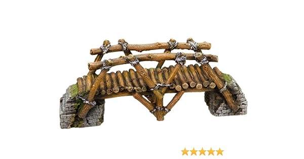 Nobby Puente de Madera Decoraciones de Acuario, 25,8 x 8 x 10 cm: Amazon.es: Productos para mascotas