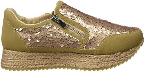 Gioseppo Paltrow, Zapatillas de Deporte para Mujer Dorado (Gold)