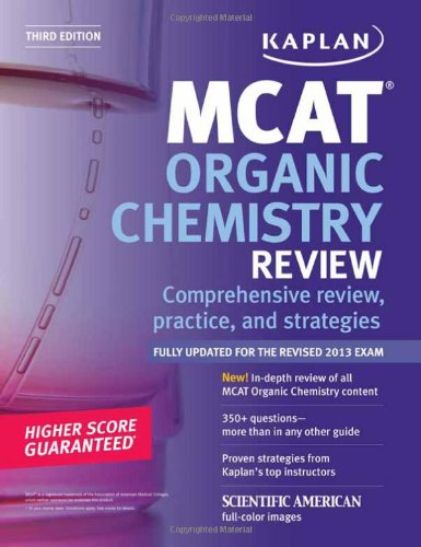 Kaplan MCAT Organic Chemistry Review Notes (Kaplan Test Prep)