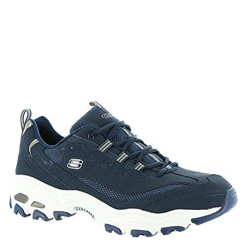 with paypal under 70 dollars Skechers Men's D'Elites Low Top Sneaker Shoes Navy Blue Navy Blue big discount cheap online cheap sale classic jjiCrc7HTK