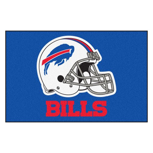 FANMATS NFL Buffalo Bills Nylon Face Starter Rug