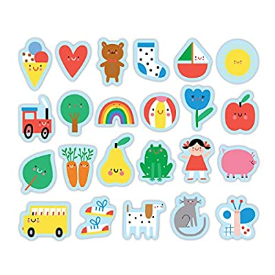 Baby's First Words Wooden Magnetic Shapes: Toys & Games