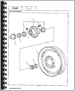 amazon com ford 861 tractor parts manual (6301147665867) books 7700 Ford Diesel Tractor Wiring Harness Diagram