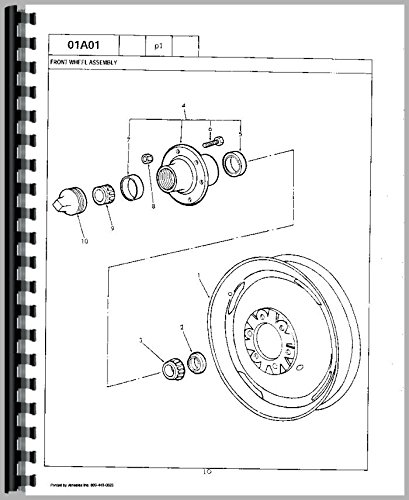 Ford 941 Tractor Parts Manual PDF