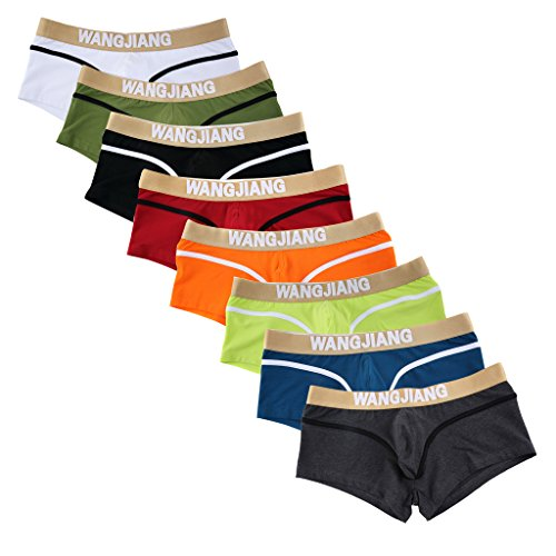 SILKWORLD Mens Underwear Cotton Trunk