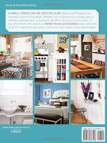 spelndid better home and gardens cookbook. Small Space Decorating  Better Homes and Gardens Home 9780470887103 Amazon com Books