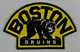 Boston Bruins Iron or Sew on Embroidery Patch Size: 3