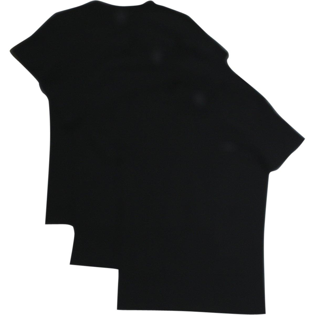 Diesel Men's Jake 3-Pack Essentials Crew Neck T-Shirt, Black, X-Large