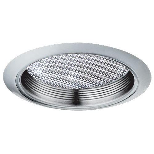 "Elco Lighting ELM42N 6"" CFL Shower Trim with Baffle and Regressed Albalite Lens - ELM42 (CFL) ()"