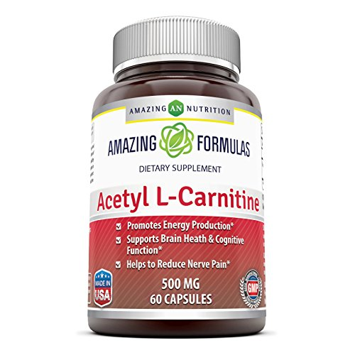 Amazing Formulas Acetyl L carnitine 500 Mg 60 Tablets