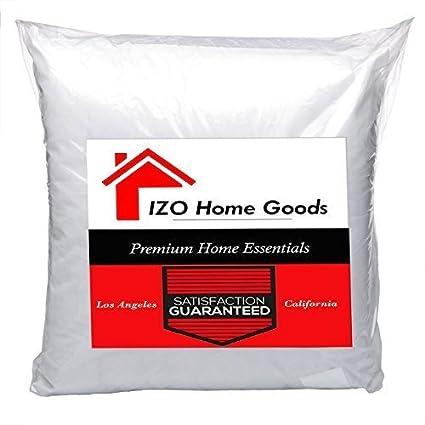 Amazon IZO Home Goods 40x40 Premium Hypoallergenic Accent Enchanting Square Floor Pillow Insert