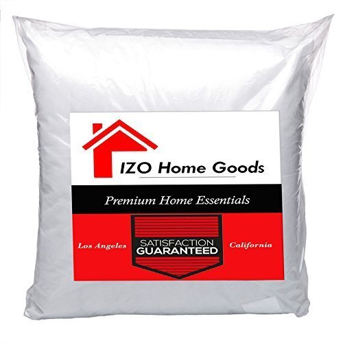IZO Home Goods Premium Hypoallergenic Throw Pillow Insert Sh