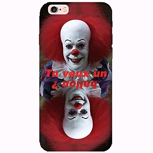 Coque Apple Iphone 6-6s - Clown rire