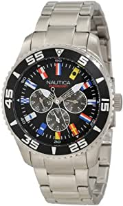 Nautica Men's N14631G NST 07 Flags Classic Analog Watch