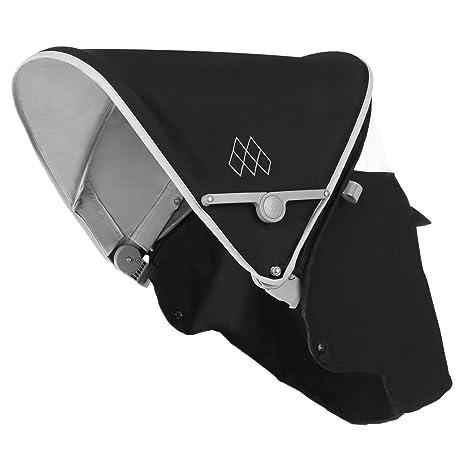 Maclaren Recambio de capota para sillita Quest 2016-2017 en color negro/gris,