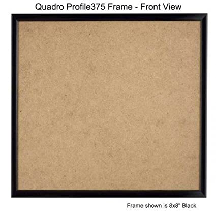 Amazon Quadro Frames 9x9 Inch Picture Frame Black Style P375
