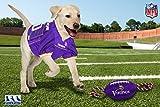 NFL Minnesota Vikings PET GIFT BOX with 2 Licensed