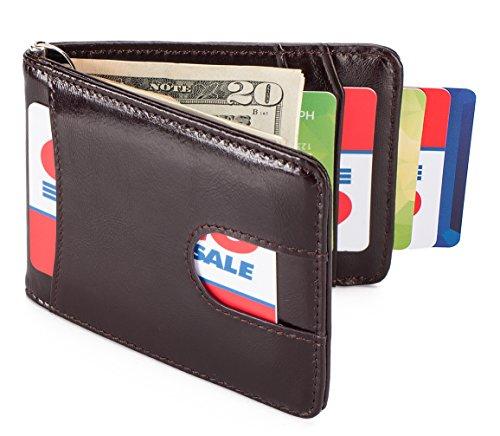 Leather Front Pocket Wallet Blocking