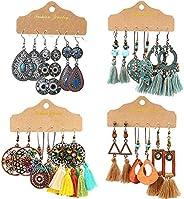 ICRPSTU Retro Dangle Drop Earrings,Boho Jewelry for Women,Bohemian Earrings Vintage Retro Dangle Drop Earring