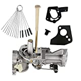 Dosens 498298 Carburetor for Briggs & Stratton 498298 692784 495951 492611 490533 495426 Carb with Gasket & Carbon Dirt Jet Cleaner Tool Kit