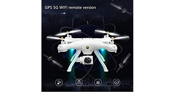 Trigle Attop W9 WiFi GPS 720P cámara dron Modo de retención de ...