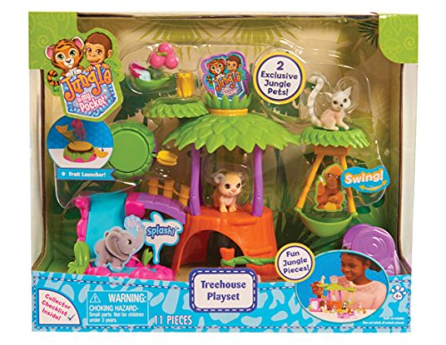 - Just Play Jungle in My Pocket Treehouse Playset