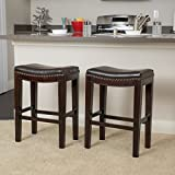 Christopher Knight Home 237480 Avondale Brown Backless Counter Stools (Set of 2) Review