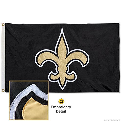 WinCraft New Orleans Saints Embroidered Nylon Flag