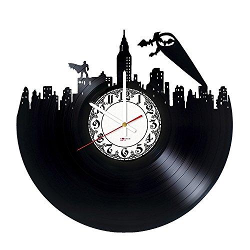 Greatest Superheroes Handmade Vinyl Record Wall Clock - Get unique bedroom wall decor - Gift ideas for friends, boys – Comics Unique Design