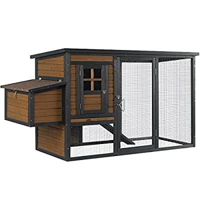 Kaytee 100525207 Chicken Coop with Nesting Box/Run