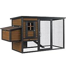 Kaytee 100525207 Chicken Coop with Nesting Box/Run