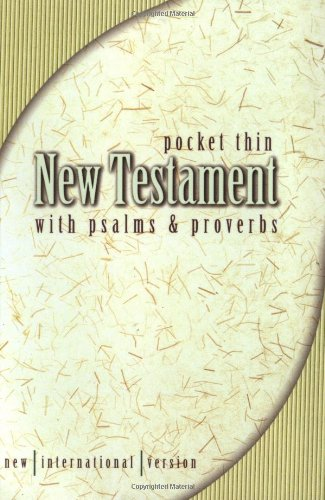 NIV Pocket Thin New Testament With Psalms & Proverbs