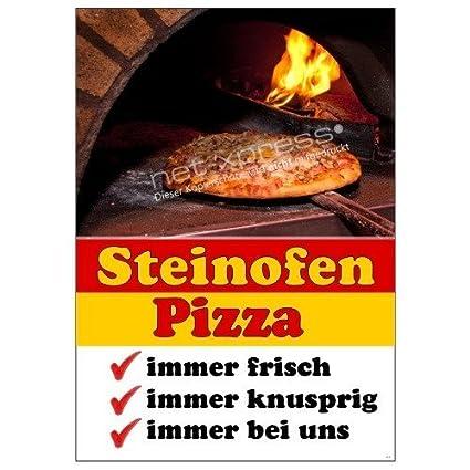 Placa Piza Din A1, Cartel de Publicidad Cartel Pizza ...