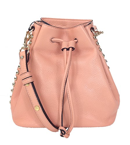 Rebecca Minkoff Unlined Leather Bucket Bag, Apricot