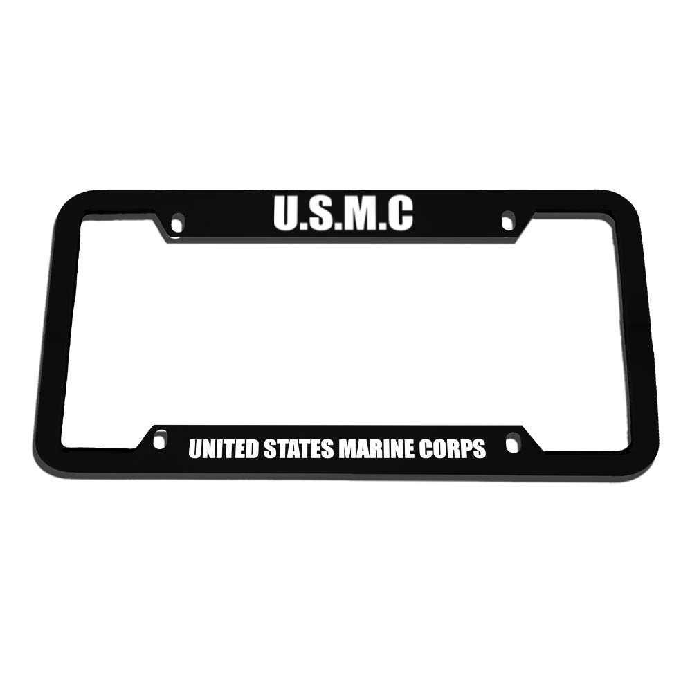 U.S.M.C United States Marine Corps License Plate Frame Tag Holder