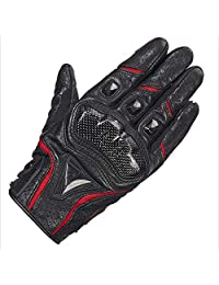 shoutao Sheepskin Gloves Riding Motorcycle Locomotive Racing Gloves Thin Touch Screen Four Seasons Shatter-Resistant Protective Gloves (Color : C, Size : XXL)