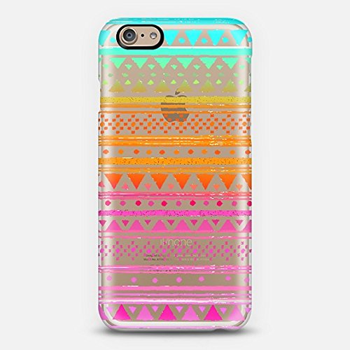 Casetify Tribal Bandana - Crystal Clear iPhone 6 Case (Frosty White)