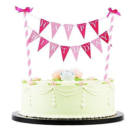 LXZS-BH - Decoración para tarta de cumpleaños, diseño de ...
