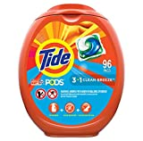Tide PODS Laundry Detergent Liquid Pacs, Clean