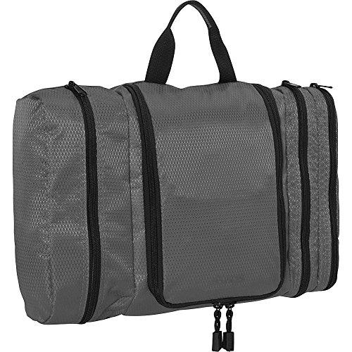 eBags Pack-it-Flat Large Hanging Toiletry Bag and Kit - (Titanium) ()