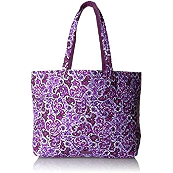 a354e5e26a7 Amazon.com  Vera Bradley Iconic Grand Tote  Clothing