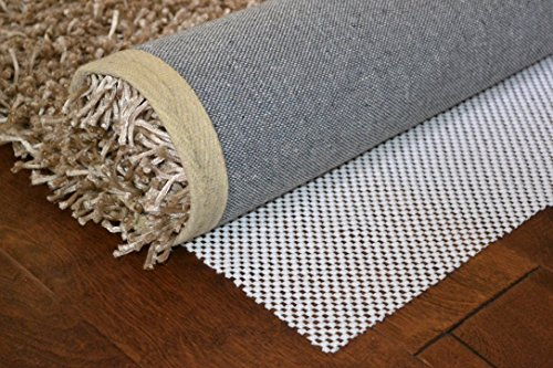 Amzoners Heavier, Thicker and Washable Non-Slip Area Rug Pad. Safe for all floor types (69)