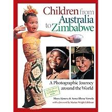 CHILDREN FROM AUSTRALIA TO ZIMBABWE(hc)