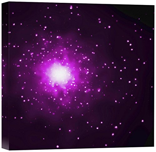 Art Chandra Art (Global Gallery NASA M60 and M60-UCD1 Chandra's View Stretched Canvas Artwork, 18-Inch by 18-Inch by 1.5-Inch)