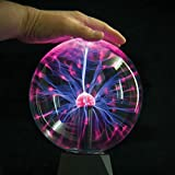 "Plasma Ball Light 6"" inch Interactive Touch"
