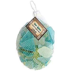 Gathered, by BCI Crafts Decorative Sea Glass, Green & Yellow Mix