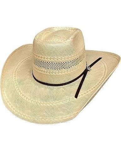 Bullhide Gleason 100X 7 Medium Straw Cowboy PBR Hat - (Natural TAN ... 75b54d64fe01