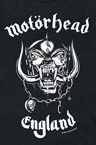 Mot/örhead England T-Shirt schwarz
