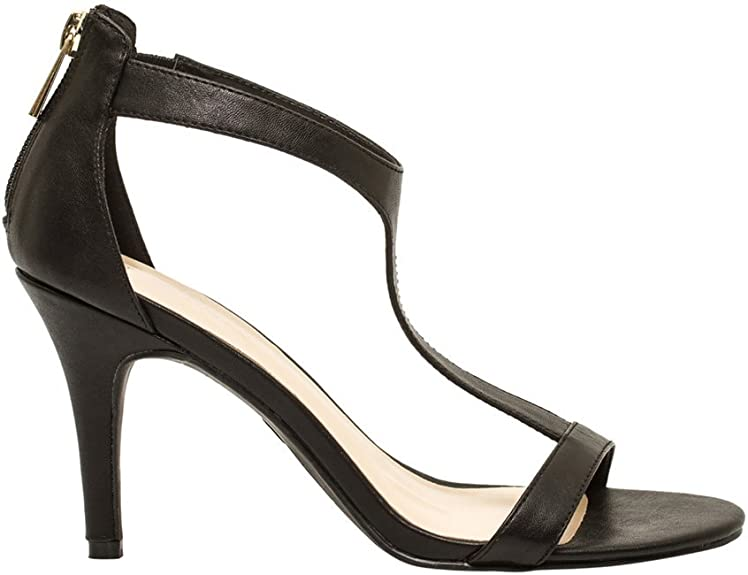 amazing price new appearance undefeated x Amazon.com   LE CHÂTEAU T-Strap Heeled Sandal   Heeled Sandals
